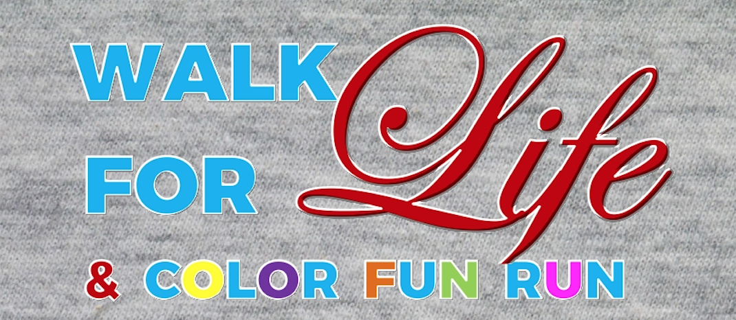 Hope Women's Centers Walk For Life and Color FUN Run